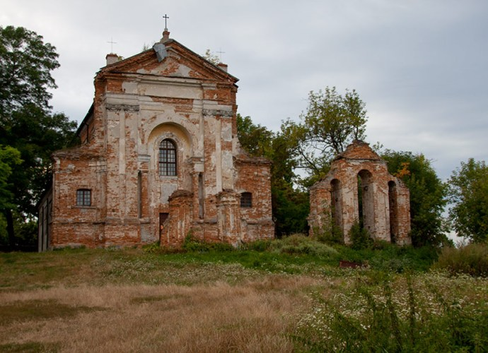Костел Антония Падуанского в Старой Котельне