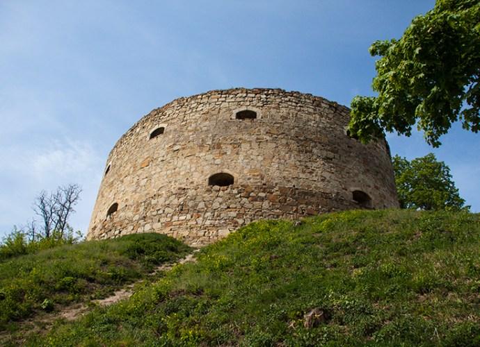 Замок в Теребовле