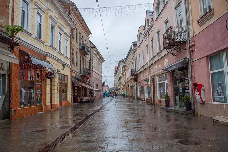 Ужгород пешеходная улица