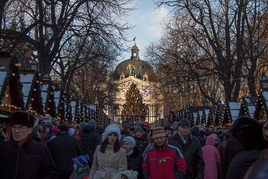 Ярмарка на Рождество