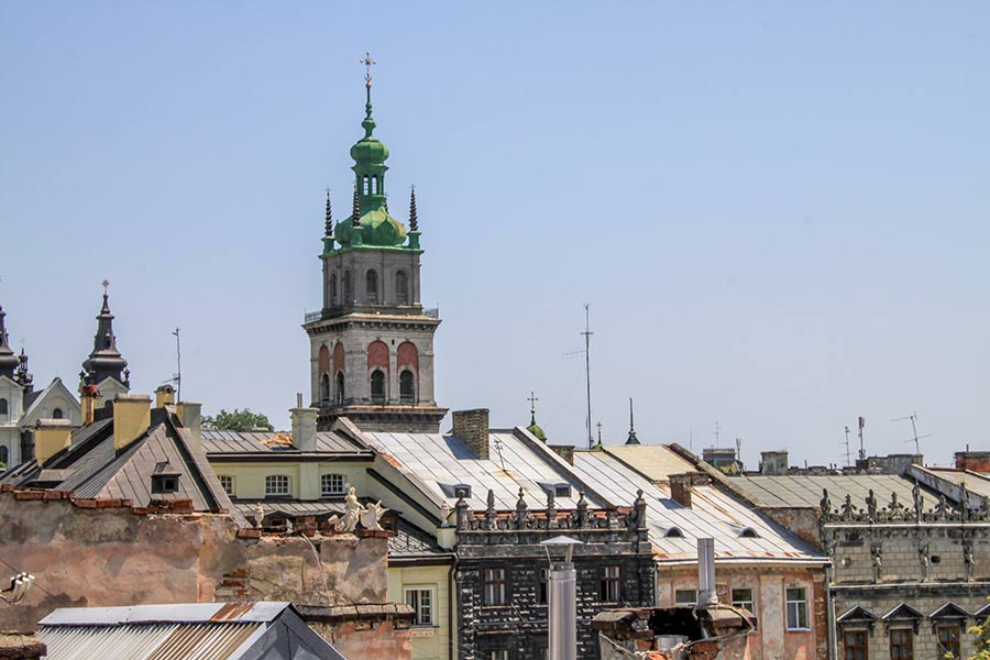 Площадь Рынок и башня Корнякта