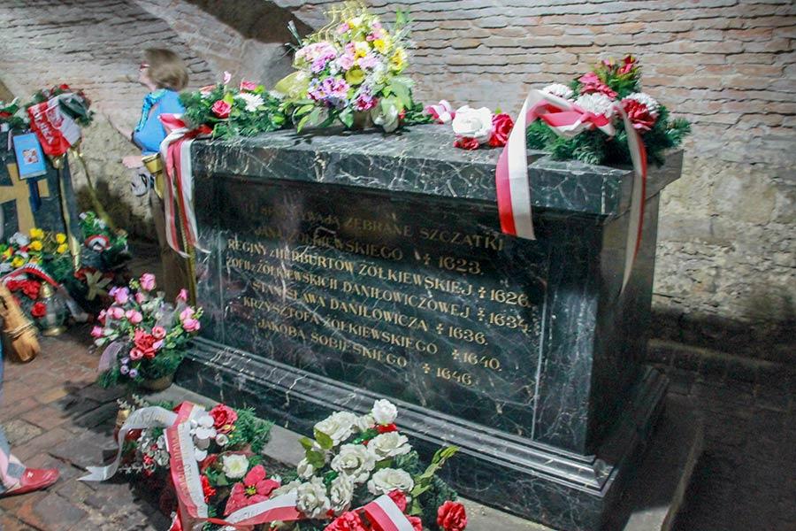 Захоронения Жолкевских