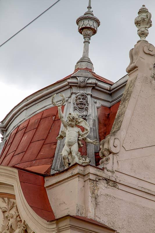 Крыша дома на Драгоманова 42