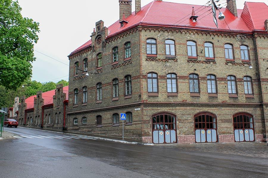 здание пожарной охраны