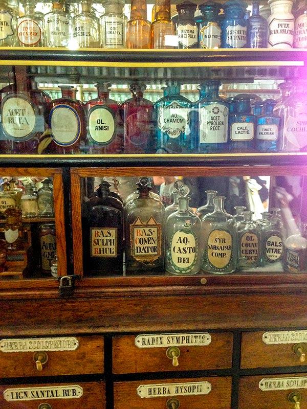 Экспонаты музея-аптеки