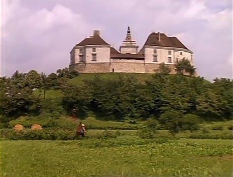 Олесский замок в кино