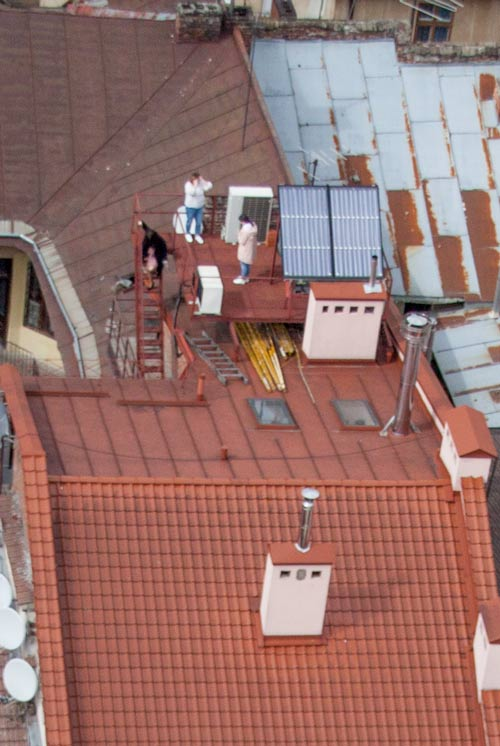 Крыша отеля 39