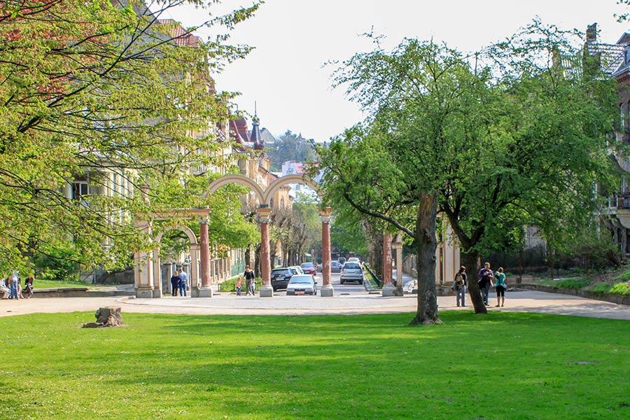 Вход в Стрыйский парк