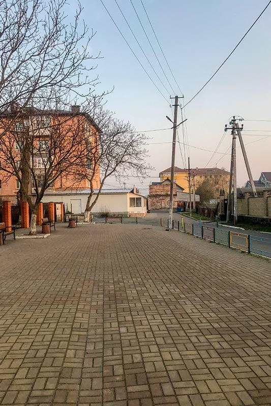 Площадка возле детского сада