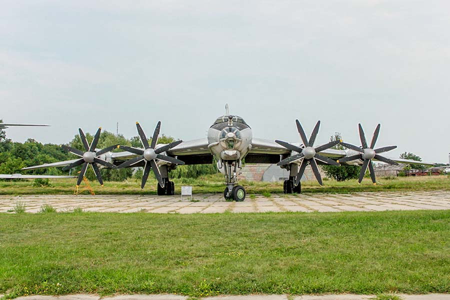 Самолет Ту-142МЗ