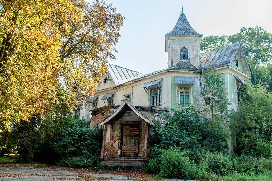 Усадьба барона фон Мекк в Копылове