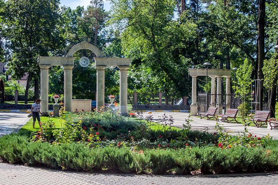 Парк Правика в Ирпене