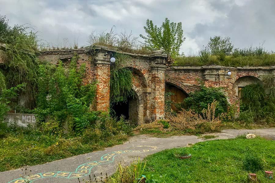 Замок в Бродах