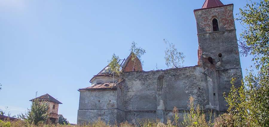 Оборонный костел в Соколовке