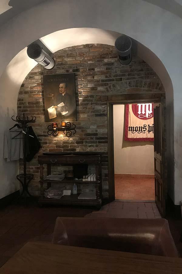 Ресторан  Mons Pius во Львове