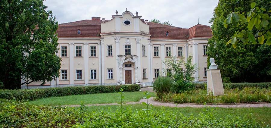 Дворец в Оброшино