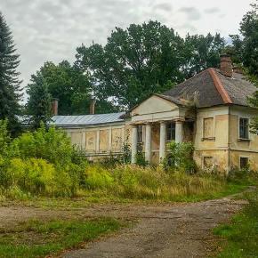 Дворец Жевуцких-Лянцкоронских в Роздоле