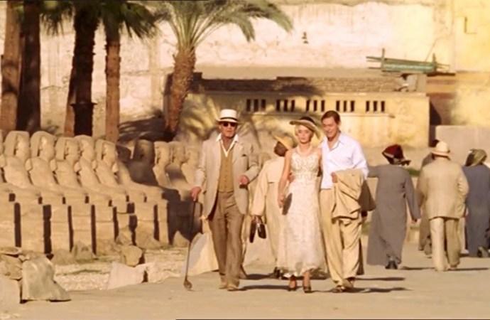 Кадр из фильма в Луксоре