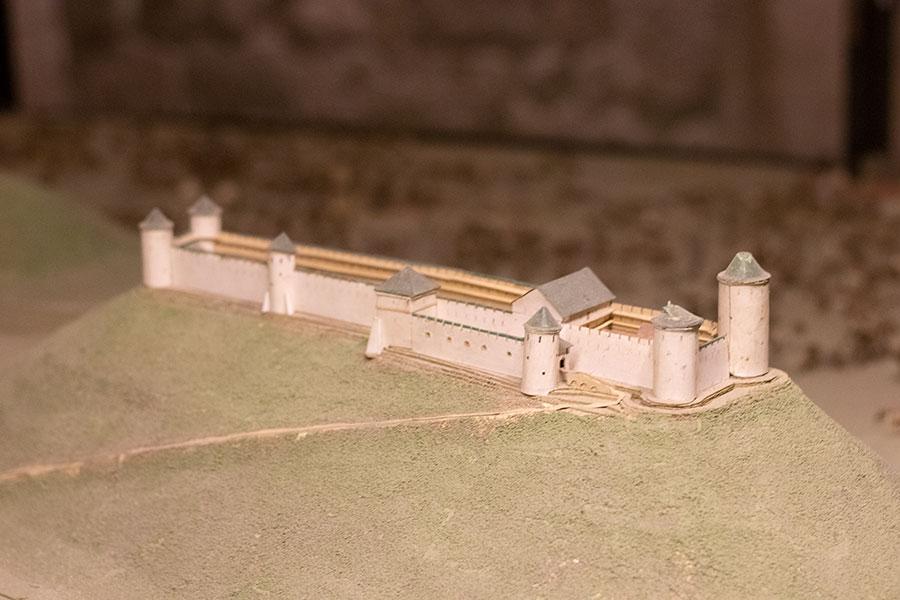 макет — Львов 1740 года Высокий замок