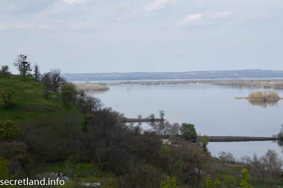 Вид на реку Днепр с Тарасовой горы