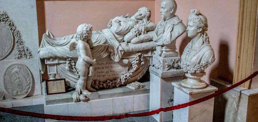 надгробие Лауры Пшездецкой