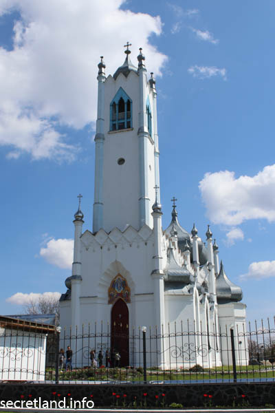 Преображенская церковь Мошны