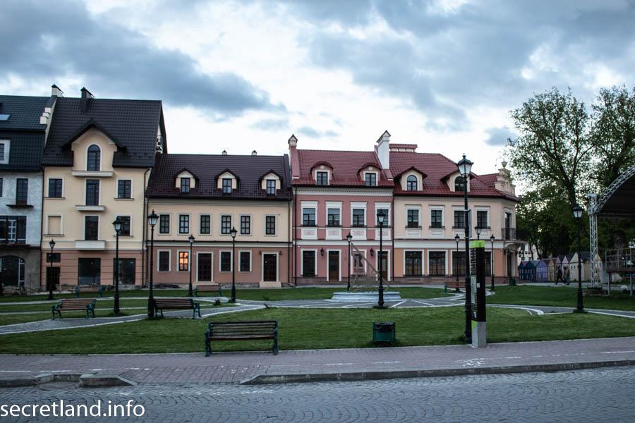 Дома на Польском рынке