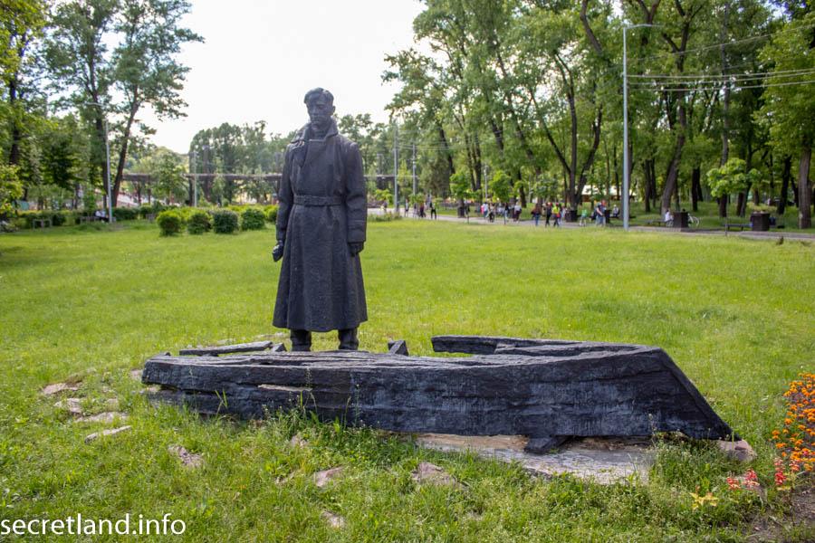 Мемориал уничтоженному поселку водников