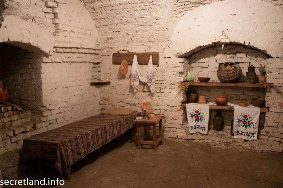 Подземелья Василианского монастыря в Умани