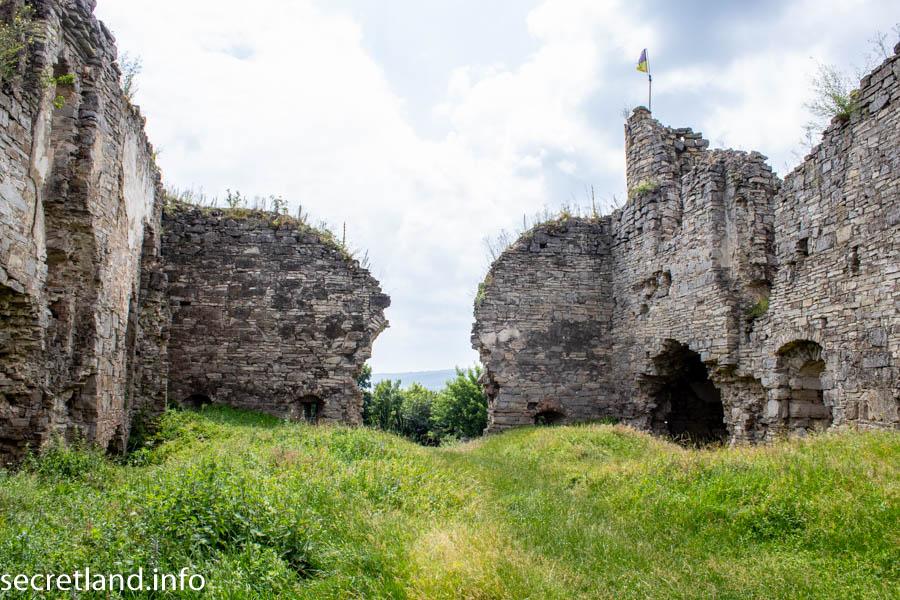 Замок в Чернокозинцах
