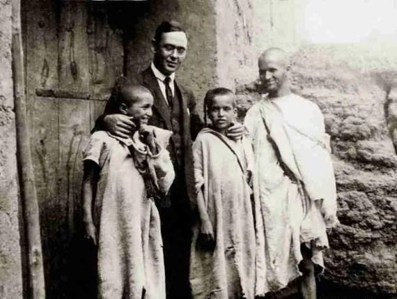 Blas Infante en su viaje a Agmat