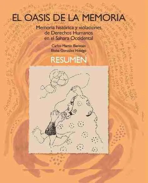 """Portada del informe """"El oasis de la memoria"""""""