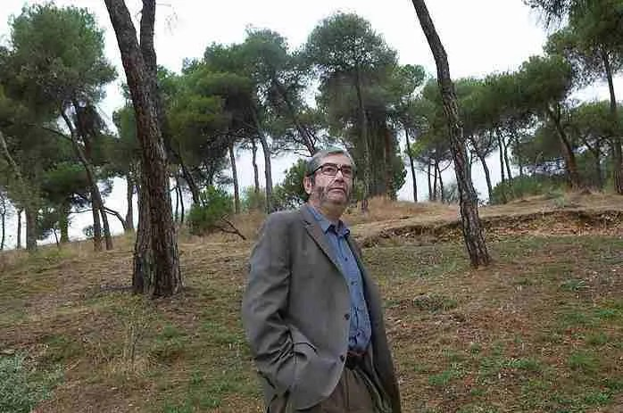 Antonio Muñoz Molina por Daniel Mordzinski