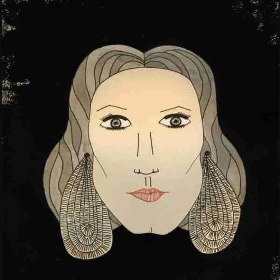 RetratoFlamenco de Marina Heredia por NuriaRubio