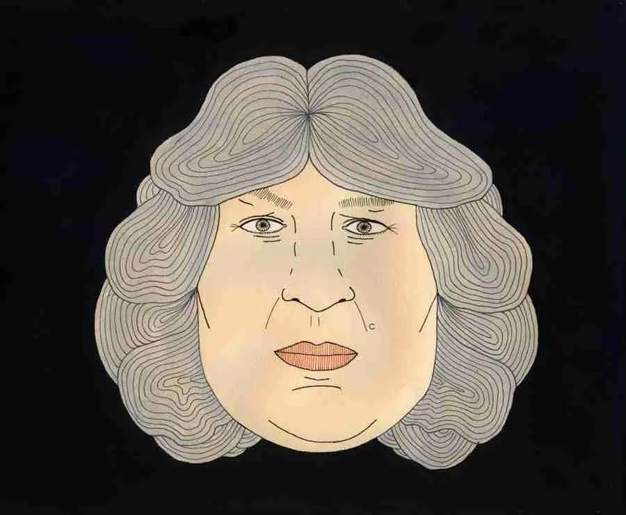 José Mercé. Ilustración de Nuria Rubio