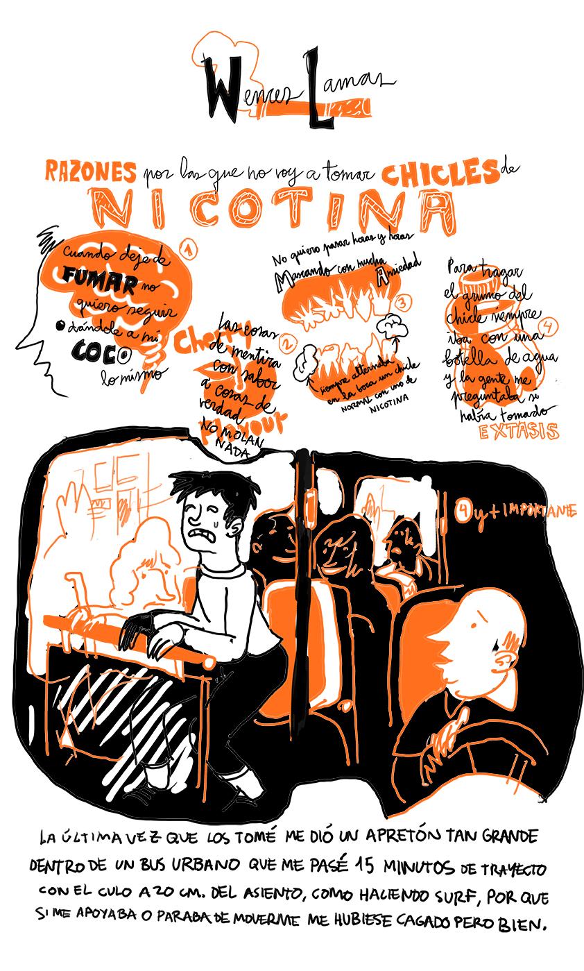 Autoayuda Ilustrada. Un cómic para dejar de beber y fumar de Jesús Llorente y Wences Lamas