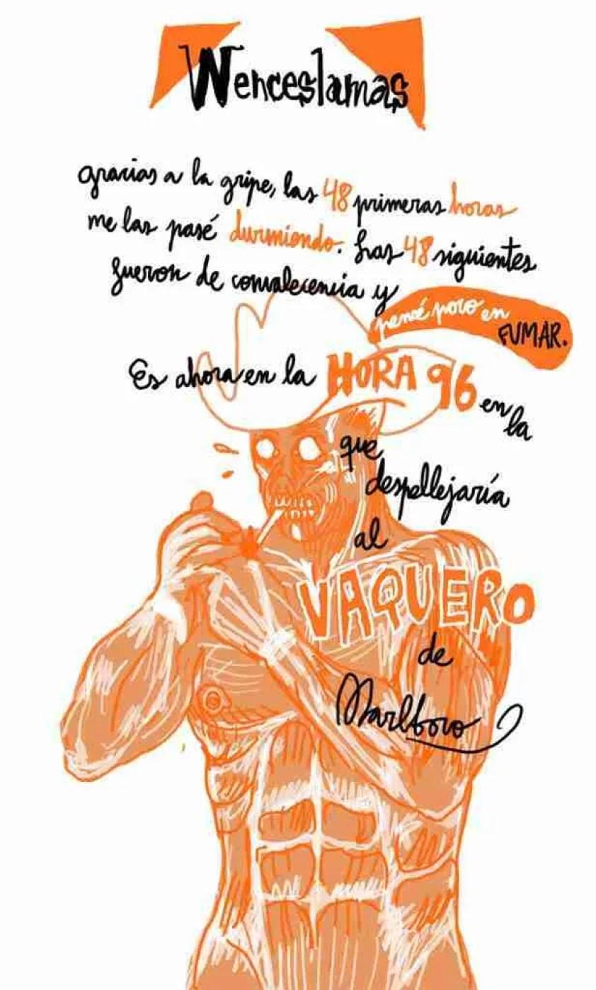 Autoayuda Ilustrada: un cómic de Wences Lamas y Jesús Llorente para dejar de beber y fumar