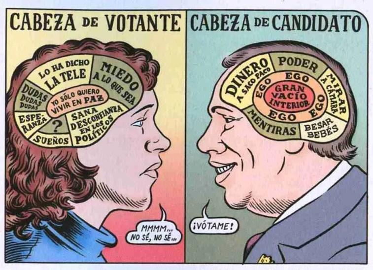Ilustración de Miguel Brieva válido para las elecciones europeas
