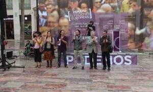 Mitin de Podemos en Málaga. Foto de Cyberfrancis