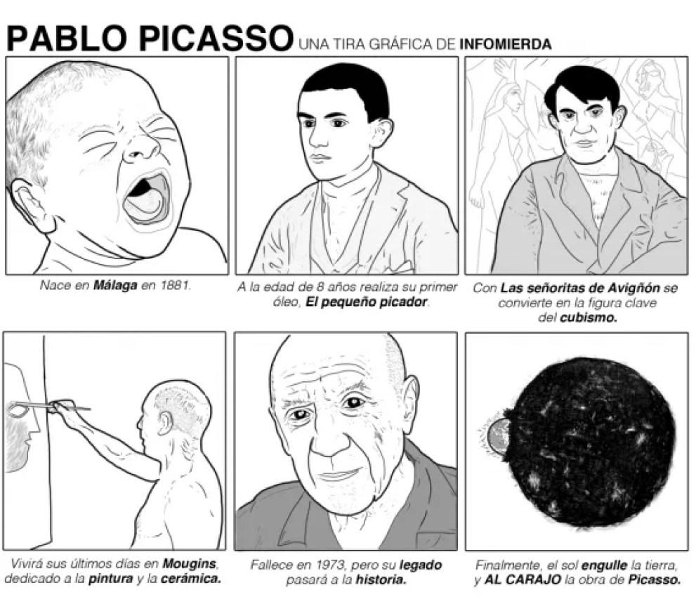 Pablo Picasso en Infomierda