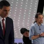 PSOE y Podemos: Sentirse en medio.