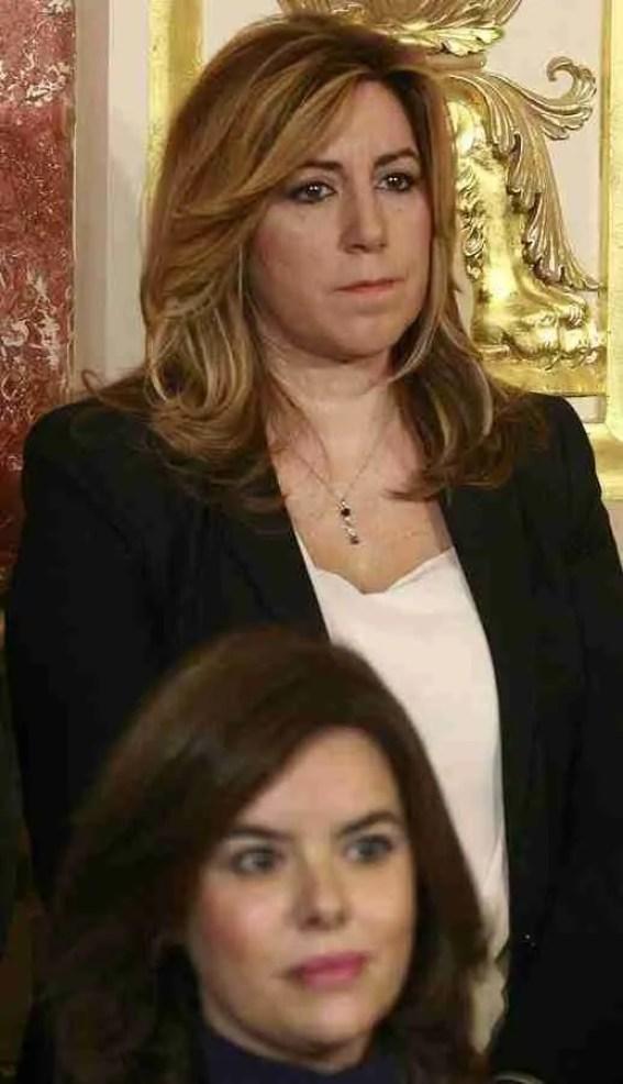 Susana Díaz y Soraya Saez de Santamaría