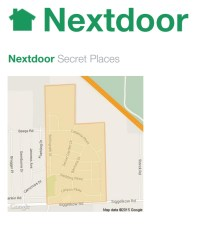 Next Door Secret Places Logo