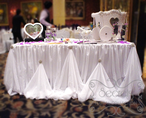 Table Skirts And Runners Seafood Cruise Mooloolaba Wedding Ceremony Reception Venue Decorations