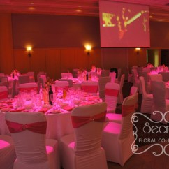 Used Spandex Chair Covers Most Expensive Auction A Crystallized Fuchsia Wedding Ceremony And Reception Decoration | Toronto Decor ...
