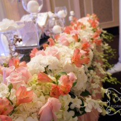 Wedding Chair Covers Toronto A Crystallized Canopy Reception Decoration   Decor Secrets Floral ...