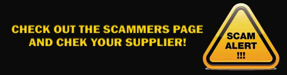 CHECK THE SCAMMERS SECTION