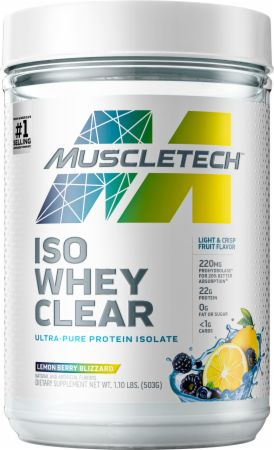 MuscleTech Iso Whey Clear Protein