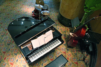 Piano Guitar Bass chording instruments