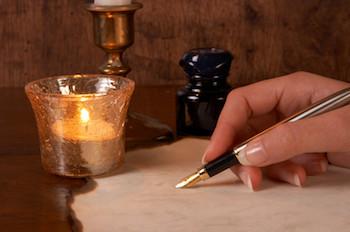 Songwriter - paper, pen